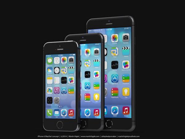 传iPhone 6或有三种尺寸 将推4寸版本
