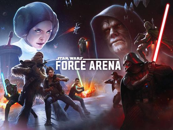 《星球大战:原力竞技场》登陆iOS 打造最强绝地武士战队