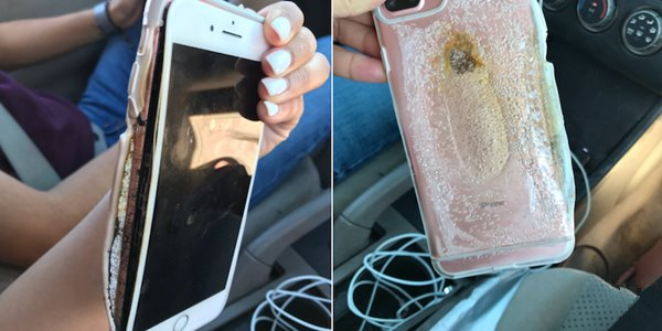 iPhone7 Plus自燃视频惹争议:苹果正调查