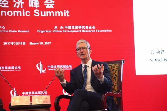 库克谈中国手机圈:竞争激烈 但苹果不关心出货量