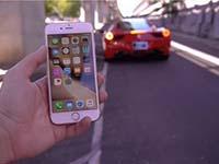 来看看被法拉利碾压苹果iPhone6s吧!