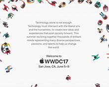 苹果宣布WWDC2017日期:iOS11发布时间确定