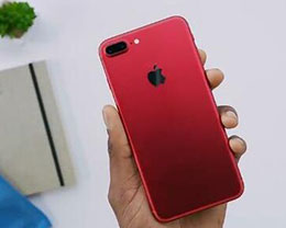 红色iPhone开箱视频:赶快来围观