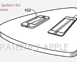 棋盘格式感应传电系统  苹果无线充电用它?