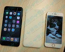 重磅消息!指纹识别后置的新iPhone 叫iPhone 7C