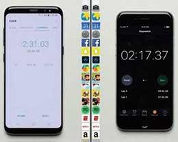 iPhone 6s速度秒杀Galaxy S8   都不用iPhone 7出马