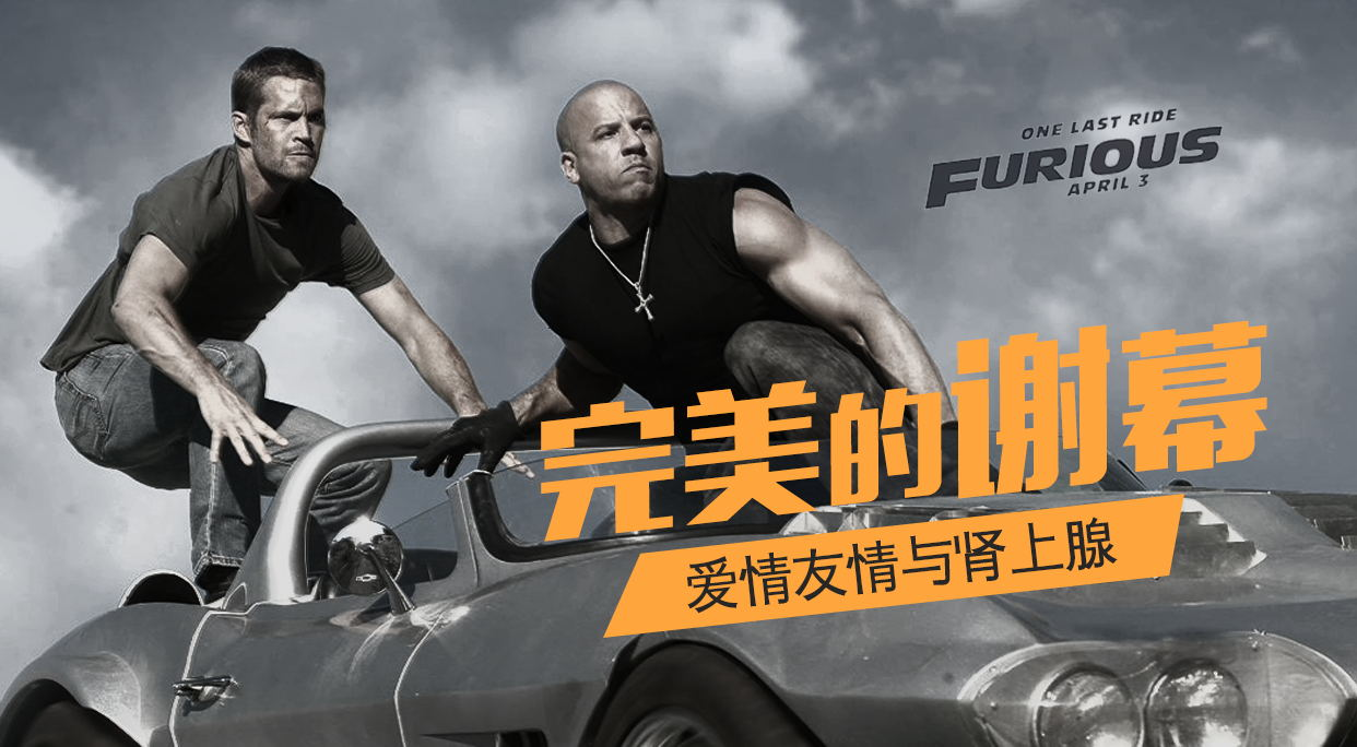 Furious 7,保罗沃克的完美谢幕,车不如新,人不如故,唯速度与激情依旧