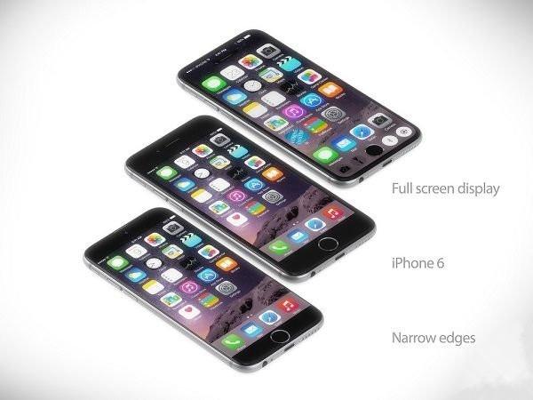 设计师:无边框全屏幕iphone7欣赏