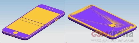 此前知名分析师郭明池曾经表示iPhone6s由于整合了ForceTouch技术的缘故,所以机身将比过去会变得更厚。而如今,这样的说法似乎得到了外壳厂商的证实。根据国外网站GsmArena独家披露的消息称,iPhone 6s的机身厚度为7mm,相比iPhone6增加了0.1 mm,而iPhone6s Plus的厚度则为7.