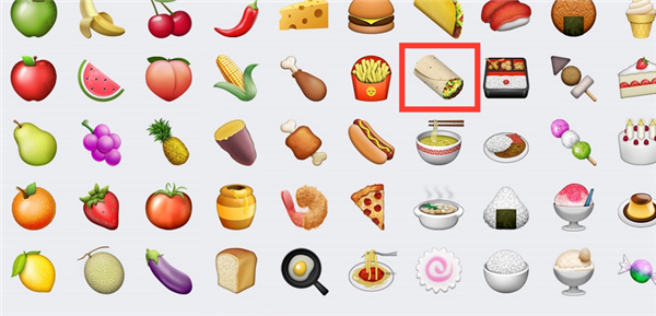 1测试版 将增添更多 emoji 表情图片