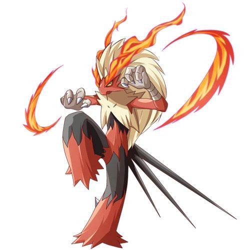 第三名:燃烧的高速斗士——火焰鸡