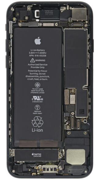 iphone 7/7 plus内部结构壁纸来了
