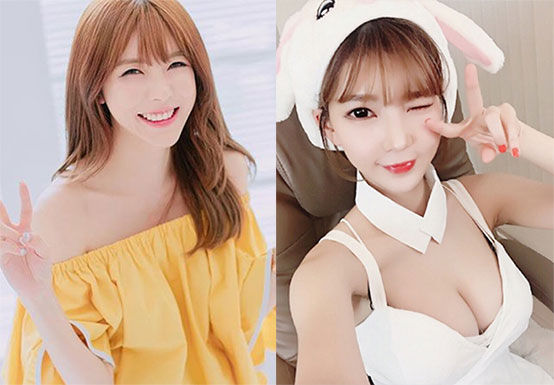 最近,韩国女主播阿英又晒福利照了,大长腿搭配可爱面孔引的粉丝尖叫