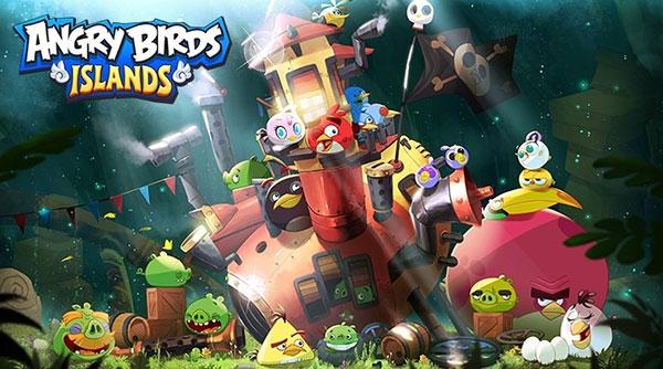 新闻 游戏热点 游戏资讯 怒鸟和绿皮猪联手 《愤怒的小鸟:岛屿》定名
