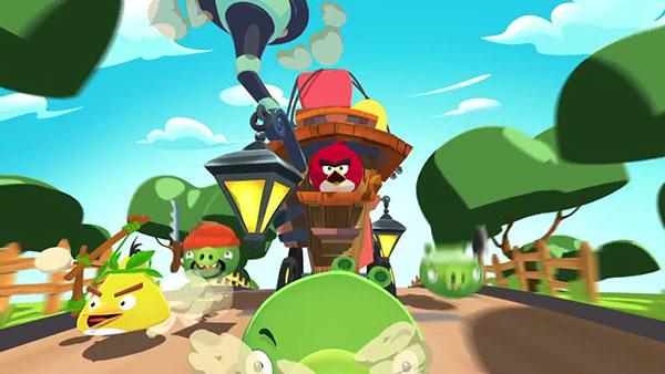 怒鸟和绿皮猪联手 《愤怒的小鸟:岛屿》定名《愤怒的小鸟:鸟猪联盟战