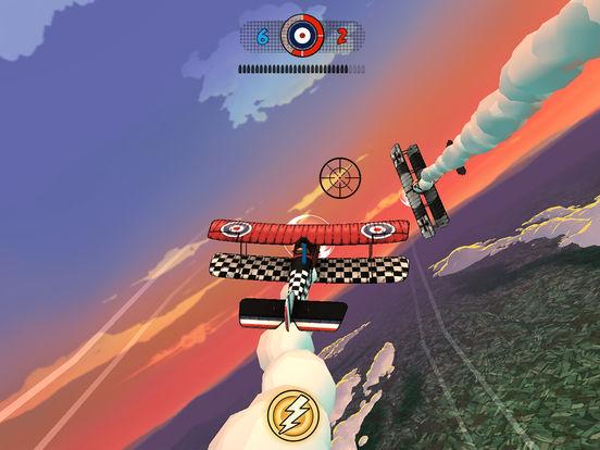 游戏分为重力感应和模拟摇杆两种操作模式