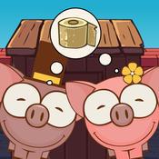小猪吃坏肚子-打屁股游戏厕所游戏大便坏蛋rovio