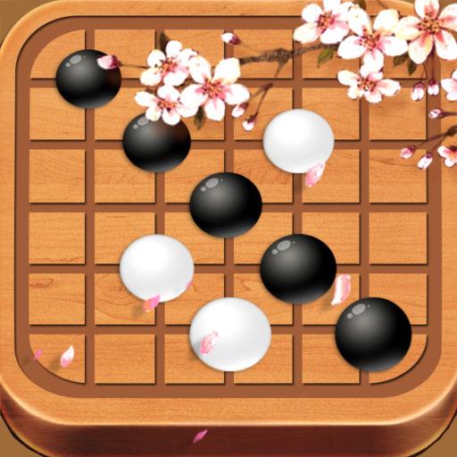 天天五子棋——双人对战,精品少儿童家庭棋牌游戏大全图片