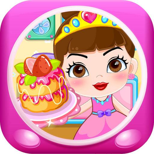 公主做蛋糕