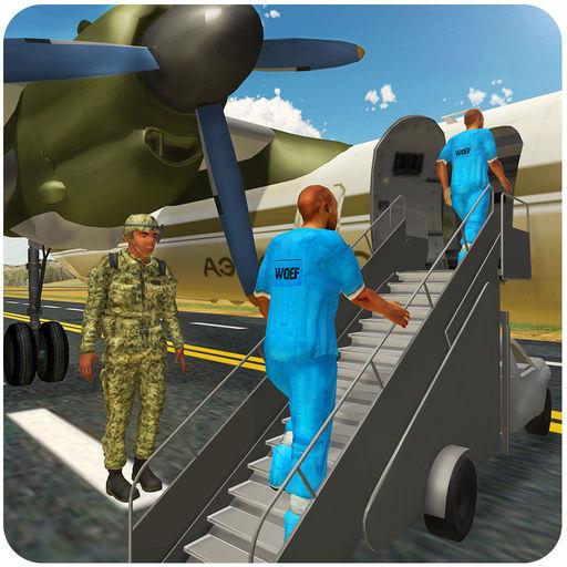 军囚犯运输飞机
