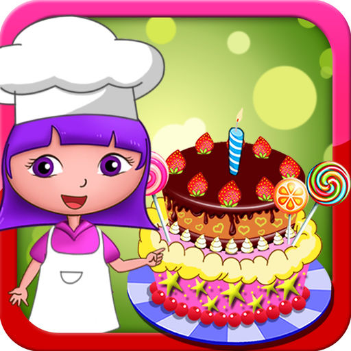 Dora's birthday cake bakery shop