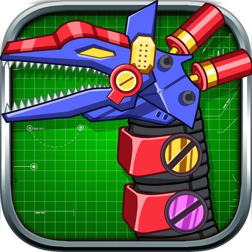 机械长颈龙:组装恐龙玩具