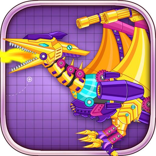 机械翼龙:组装恐龙玩具