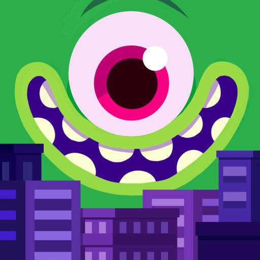 怪兽吃了我的城市 Monster Metro
